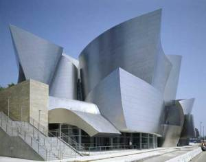 Is this the Frank Gehry building I saw in downtown Los Angeles? Who the fuck can tell?