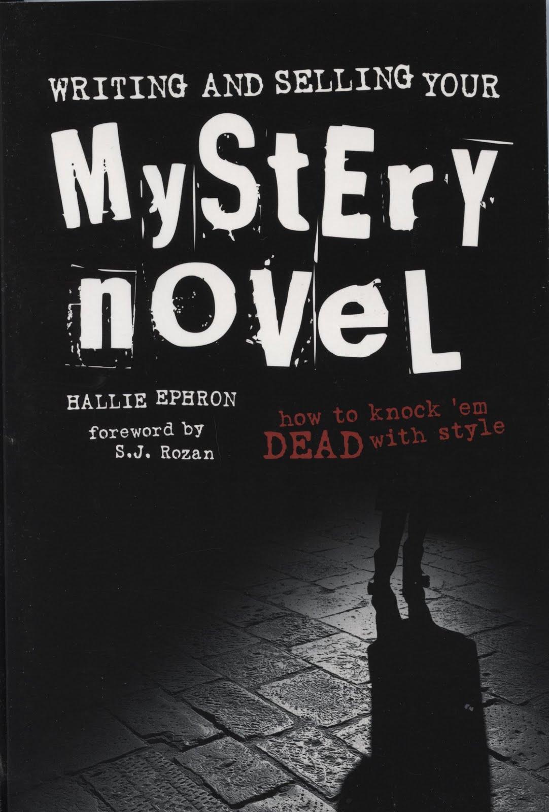How to write a mystery novel book