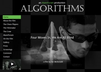 Algorithms – Ian McDonald reminds us, four moves in we are all blind. (Sydney Film Festival review)