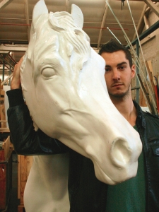 Elliott Marsh, Producer and creative brains behind Equus 2013 and director of Nomadic Artists.
