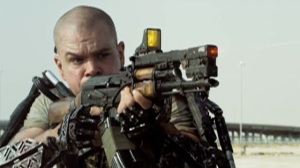 Matt Damon in Neill Blomkamp's Elysium