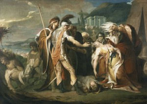 James Barry: King Lear weeping over the dead body of Cordelia.