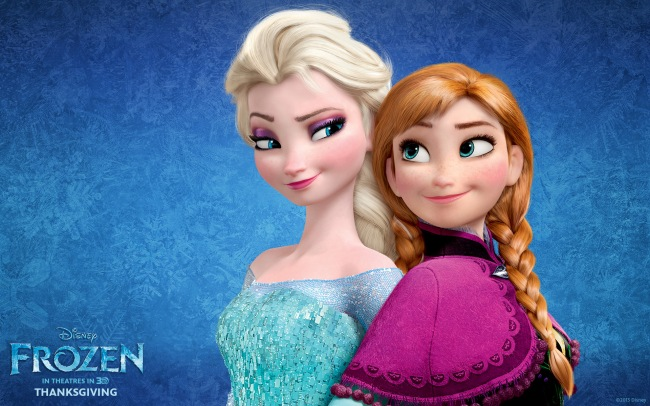 Frozen-wallpaper-sisters