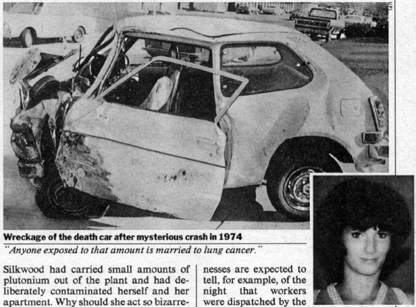 The death of the real Karen Silkwood.
