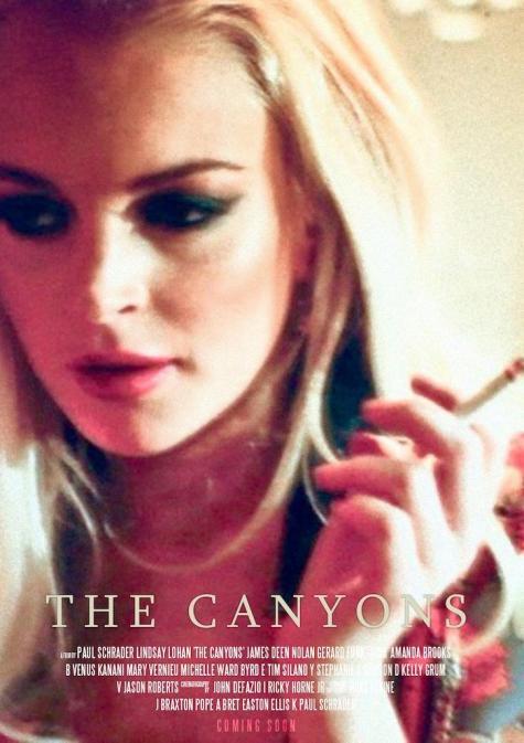 The-Canyons-poster-Lindsay-Lohan