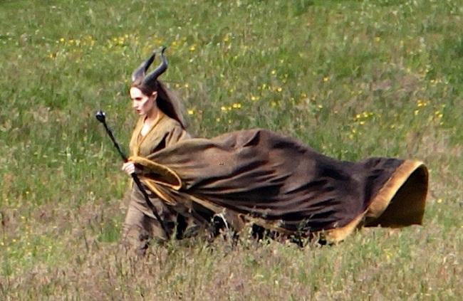 "Angelina Jolie Films ""Maleficent"""
