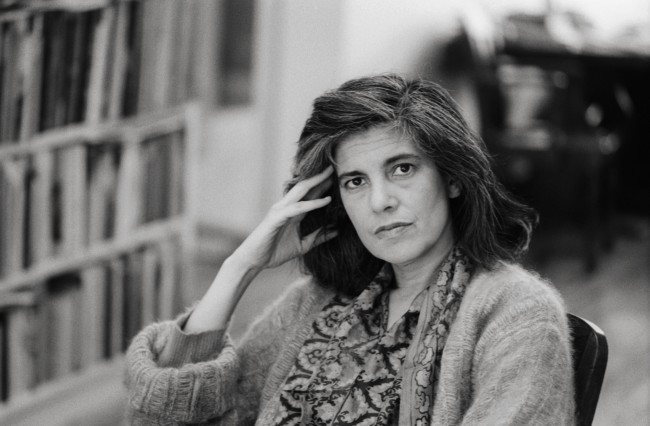 American Intellectual and Writer Susan Sontag