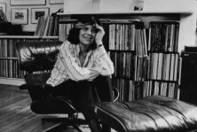 Portrait Of Author Susan Sontag