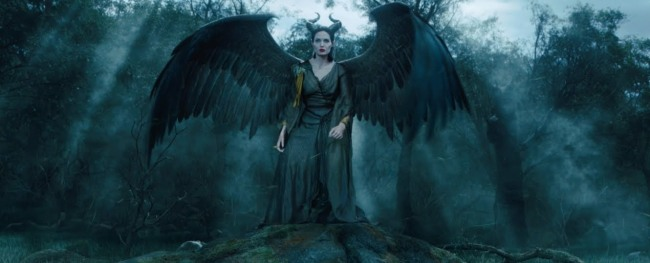 The great Angelina Jolie in Maleficent.