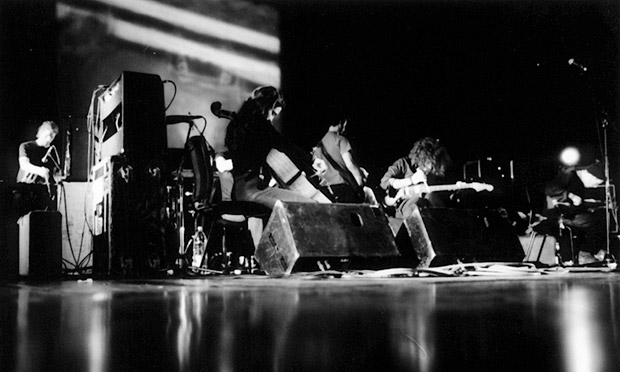 In the dark … Godspeed You! Black Emperor.